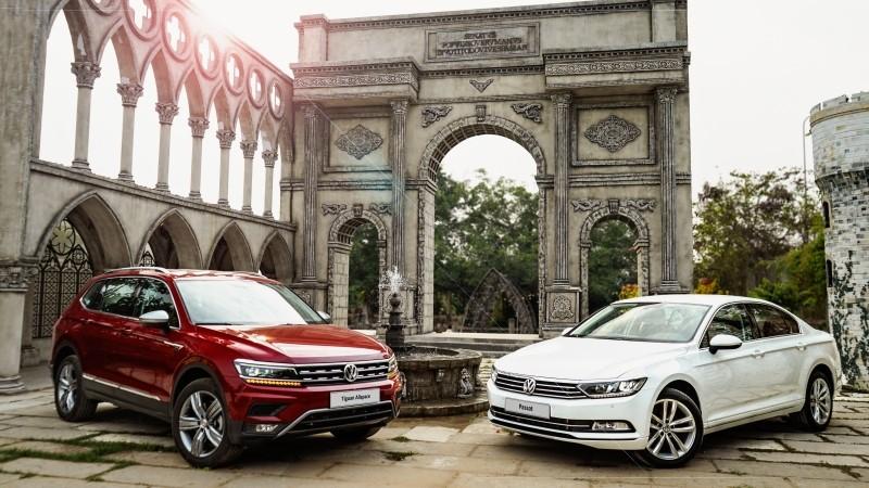 Volkswagen Tiguan Allspace và Volkswagen Passat