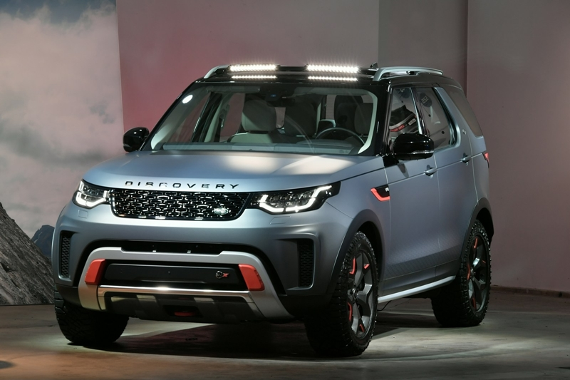 [LAAS 2017] Land Rover Discovery SVX Concept – Siêu SUV Off-road từ Anh Quốc