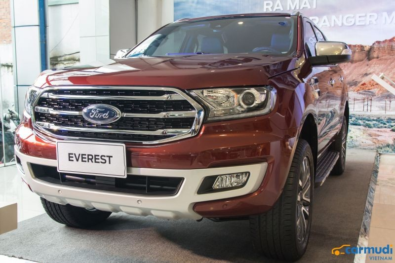 xe cũ 7 chỗ Ford Everest